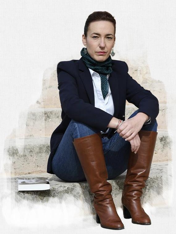 focus portrait illustrant le biographie de Amandine DESLANDES